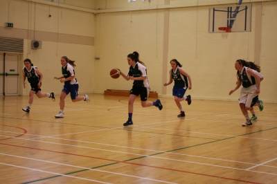 Irish Under 16 Basketball Team